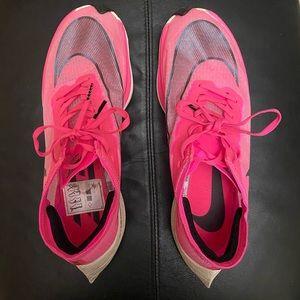 Nike ZoomX VaporFly Next% Pink Women's 9